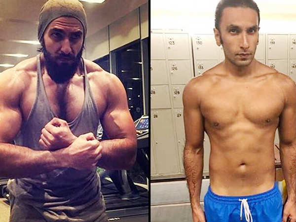 Ranveer Singh goes from being beefy to lean with utmost ease