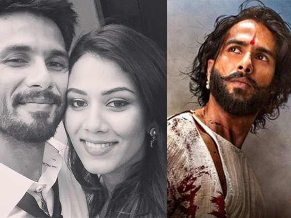 Shahid Kapoor just revealed the sweetest thing Mira Kapoor said when he shot for Padmaavat