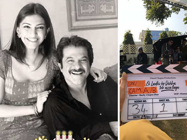 Sonam Kapoor and Anil Kapoor begin shooting for Ek Ladki Ko Dekha Toh Aisa Laga