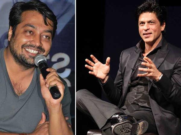 Anurag Kashyap wants to write a script that lures Shah Rukh Khan