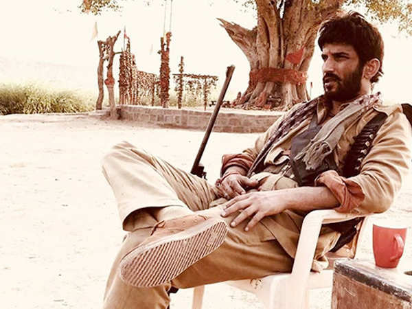 Sushant Singh Rajput's look in his next film Son Chiriya is rustic and edgy