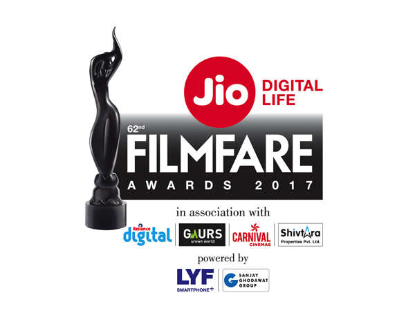 Winners of the 62nd Filmfare Awards 2017