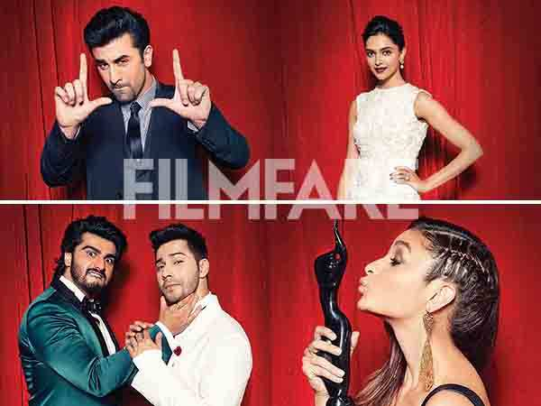 Filmfare Awards Flashback: Bollywood A-listers have some fun at the Filmfare photo booth