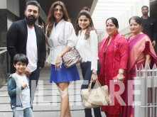 Shilpa Shetty spends some quality time with family
