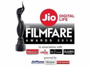 Nominations for the 63rd Jio Filmfare Awards 2018