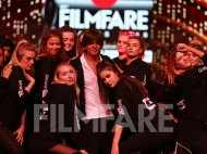 King Shah Rukh Khan rehearses for his special act at the 63rd Jio Filmfare Awards