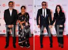 Ashwini Iyer Tiwari, Nitesh Tiwari, and Jackie Shroff grace the 63rd Jio Filmfare Awards