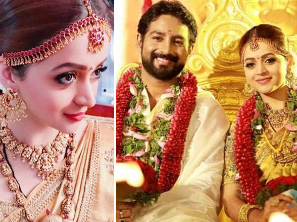 Malayalam Actress Bhavana's wedding with beau Naveen looks straight out of a fairytale!