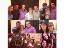 Salman Khan, Bobby Deol, Sonakshi Sinha give a surprise to Preity Zinta on her birthday