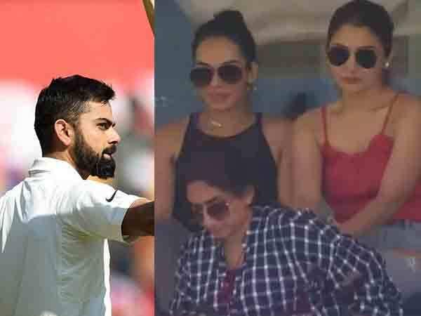 Trollers again take on Anushka Sharma after Virat Kohli's early dismissal