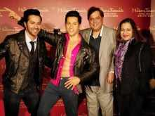 Woah! Varun Dhawan strikes a pose with his wax statue at Madame Tussauds Hong Kong