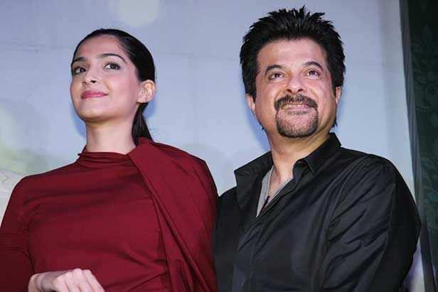 Anil Kapoor, Sonam Kapoor