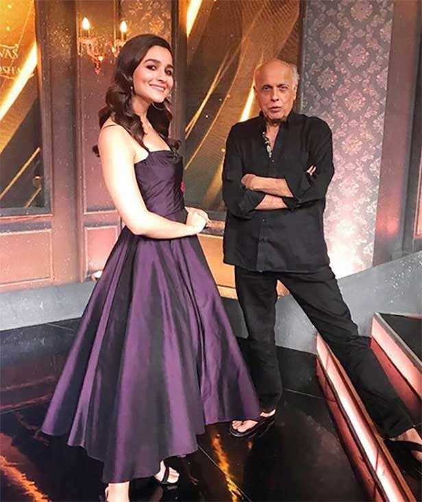 Mahesh Bhatt, Ranbir Kapoor, Alia Bhatt