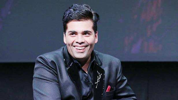 Rajkummar Rao and Karan Johar