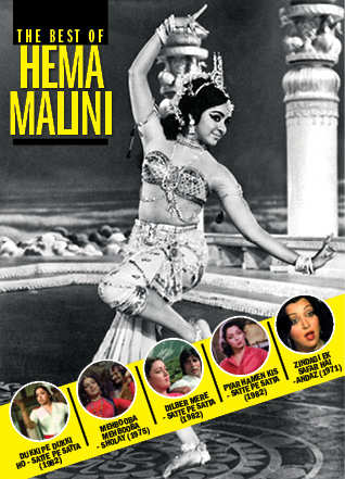 Hema Malini defined everything that the Dream Girl tag stood for. She could dance, act, emote with equal ease.