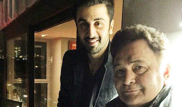 Rishi Kapoor - Ranbir Kapoor