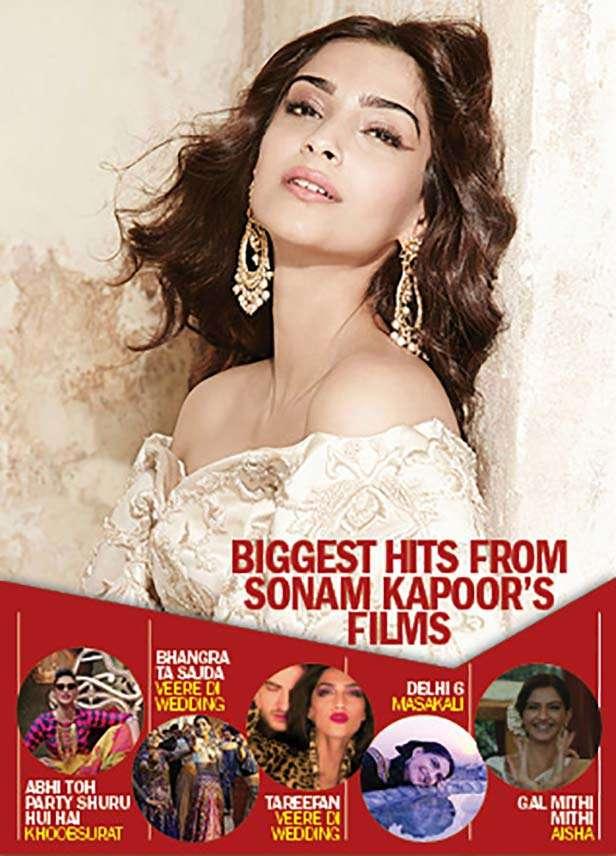 Sonam Kapoor Filmfare Exclusive