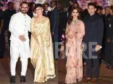 Aamir Khan, Madhuri Dixit Nene steal the show at Ambani engagement bash