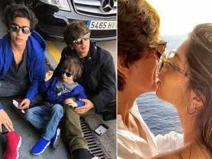 Summer slay! Shah Rukh Khan and his family holiday in Barcelona