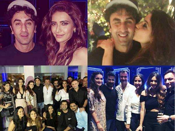 Inside videos! Ranbir Kapoor video calls Vicky Kaushal at the success party
