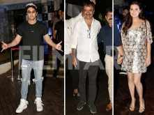 Ranbir Kapoor, Rajkumar Hirani, Dia Mirza and more at Sanju's success bash