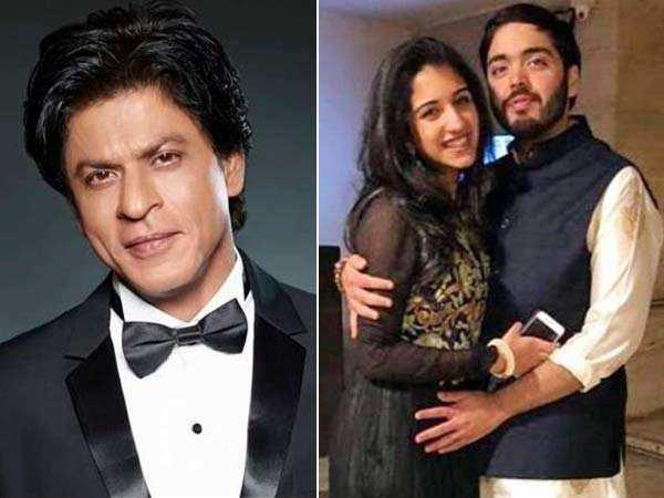 Watch! Shah Rukh Khan teases Anant Ambani with girlfriend Radhika Merchant