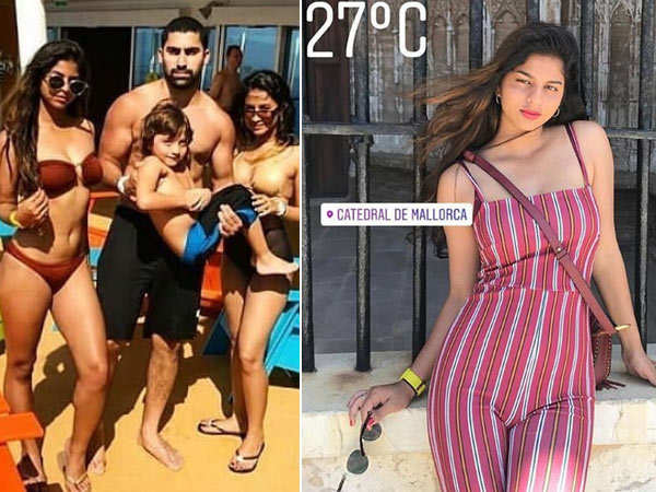 Summer slay! Suhana and AbRam Khan are having a great time in France