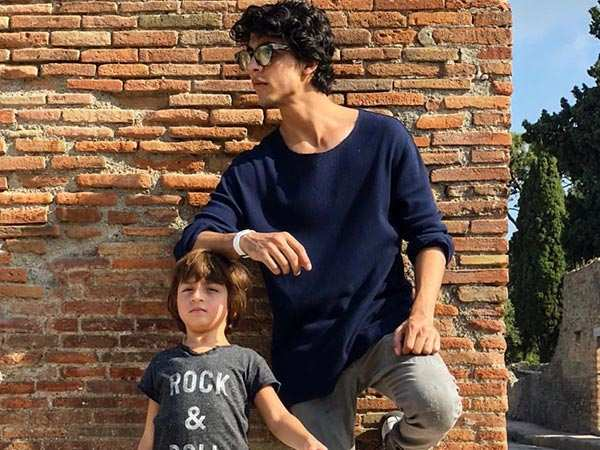 Aryan Khan and AbRam get posey in Italy
