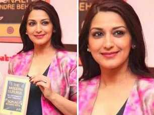 Sonali Bendre gets emotional after reading heartfelt messages on her health