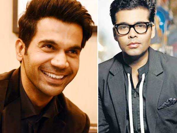 Rajkummar Rao to work with Karan Johar?