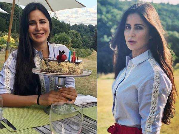 Pictures! This is how Katrina Kaif is celebrating her birthday in London