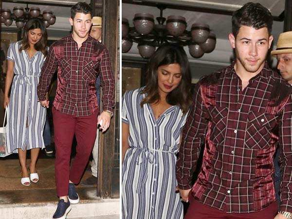 Photos! Priyanka Chopra & Nick Jonas head out for a romantic date in London