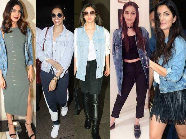 Deepika Padukone, Alia Bhatt show you how to style your denim jacket