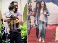 Taimur, Kareena and Saif Ali Khan have a busy day in the city