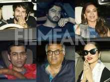 Rekha, Shahid Kapoor, Arjun Kapoor & more snapped at Dhadak's screening