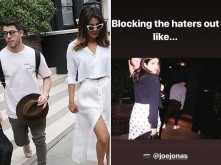 Nick Jonas posts a fun picture of Priyanka Chopra