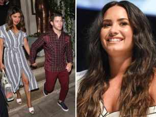 Priyanka Chopra and Nick Jonas come out in support of Demi Lovato