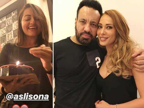 Salman Khan's special birthday surprise for Iulia Vantur at his residence
