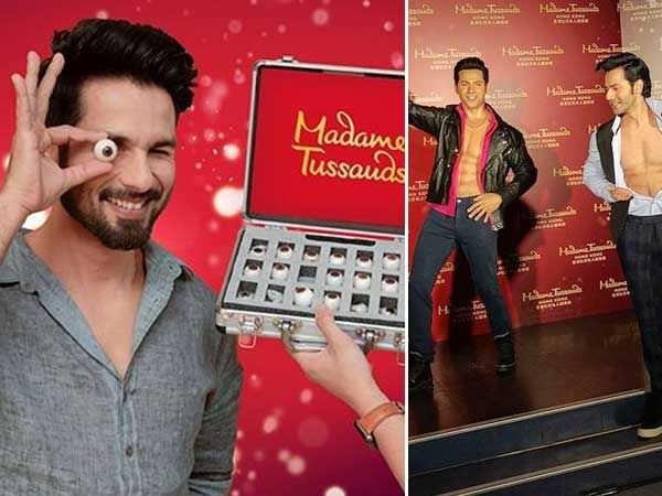 Shahid Kapoor says his wax statue should be placed next to Varun Dhawan's