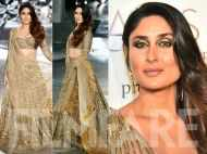Glitter and glow! Kareena Kapoor Khan closes the show for Falguni and Shane Peacock