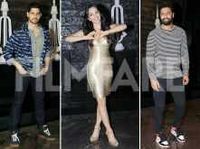 Sidharth Malhotra and Vicky Kaushal light up Kiara Advani's birthday bash