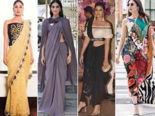 Bollywood divas teach us how to vamp up our regular sarees