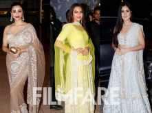 Daisy Shah, Sonakshi Sinha and Katrina Kaif attend Poorna Patel's reception