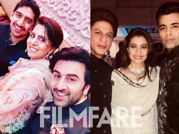 Inside pictures from the Ambani engagement bash