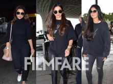 Parineeti Chopra, Deepika Padukone and Katrina Kaif snapped at the airport