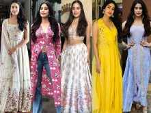 7 best looks of Janhvi Kapoor from Dhadak promotions