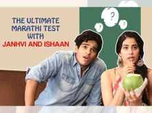 Janhvi Kapoor and Ishaan Khatter take the ultimate Marathi test
