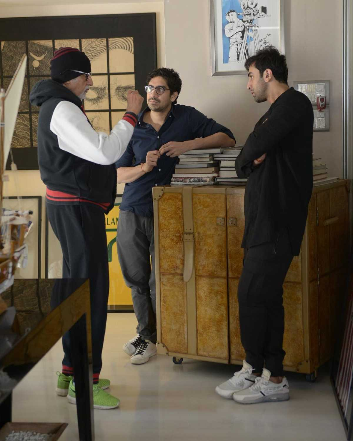 "Amitabh Bachchan, Ranbir Kapoor, Alia Bhatt and Ayan Mukerji began prep for the second schedule of Brahmastra yesterday. The trio has been cast in Ayan Mukerji's directorial venture that is produced by Karan Johar's Dharma Productions. Brahmastra is going to be a trilogy and will have Alia and Ranbir teaming up for the first time on a project. The two young superstars are extremely excited to work with Bollywood's Shahensha Amitabh Bachchan. Alia posted a picture from their script reading session yeaterday and soon after Amitabh Bachchan posted a string of selfies on his social media account. The selfies had Alia, Ranbir and Ayan in them along with Big B himself. Amitabh Bachchan made a blunder as he wrote Ranbir's name as Ranveer in the picture and captioned it , ""We prep for BRAHMASTRA .. Ranveer , Alia , Ayan .. every one else except me .. I prep to brush my teeth."" Oh no! well, this typo seems a little too much to take, isn't it?  Big B soon put another picture with the same trio and apologized for calling Ranbir as Ranveer by mistake. The actor captioned the other picture as , ""Typo .. that's Ranbir not Ranveer."" That was quite an oops moment Big B, what do you guys think?"