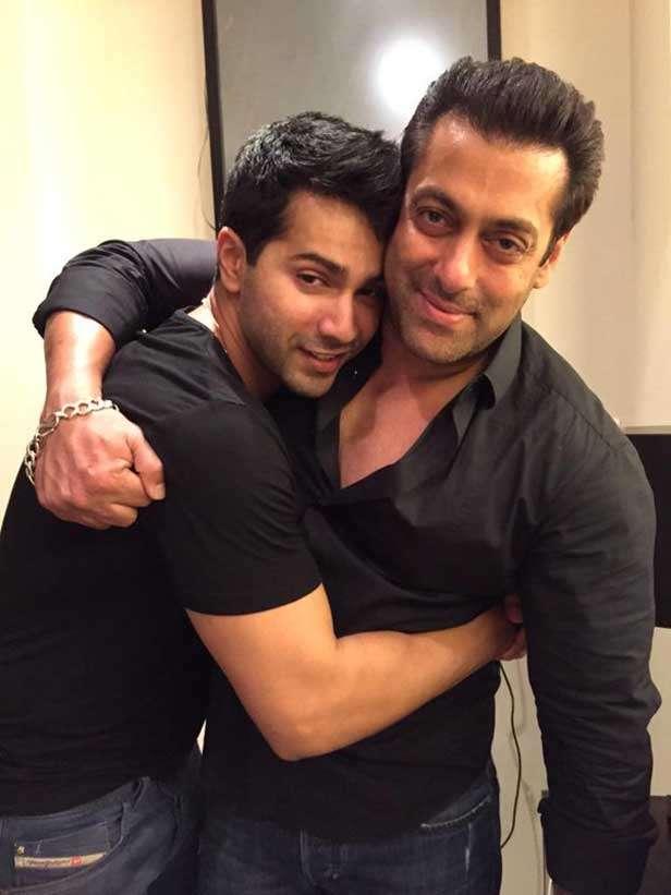 Varun Dhawan, Salman Khan