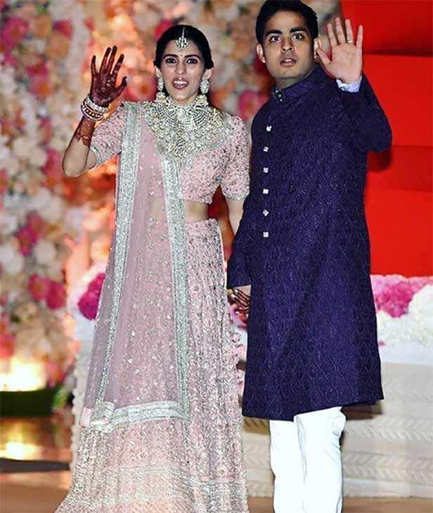 Akash Ambani, Shloka Mehta